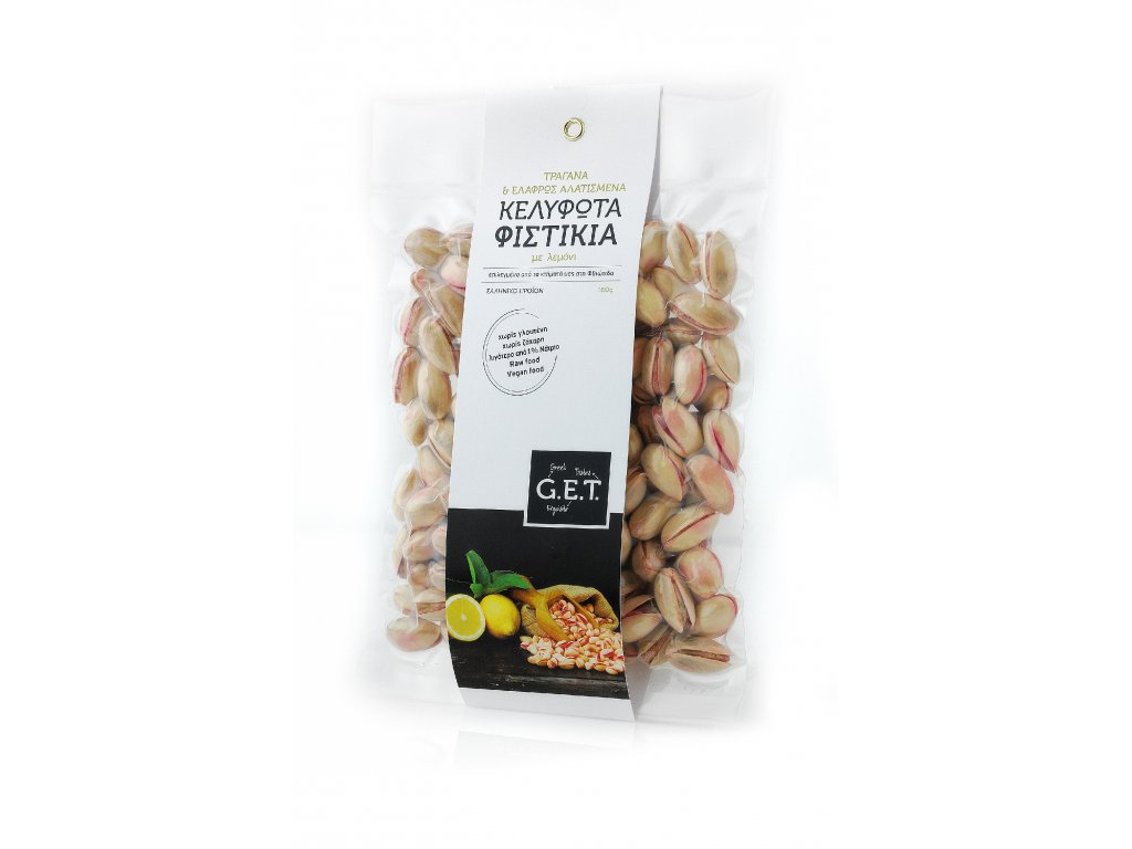PISTACHIOS LEMON