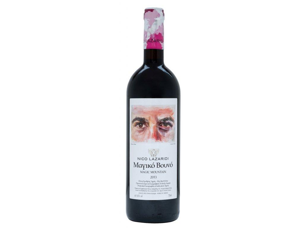 Magic Mountain cervene vino 2013 Nico Lazaridi Greek Market