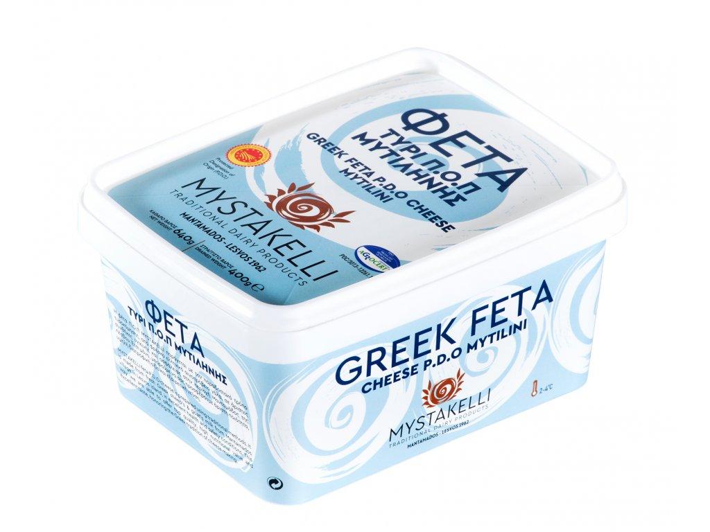 Feta Mytilinis 400g Mystakelli Greek Market