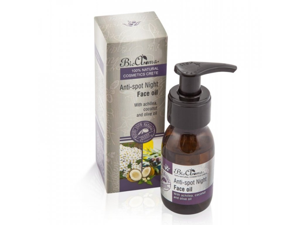 anti spot night face oil