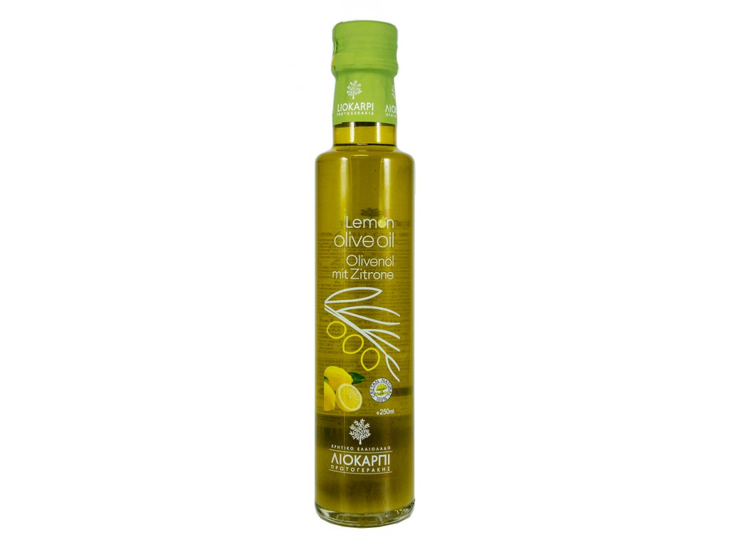 Liokarpi extra panensky olivovy olej s citronem Greek Market