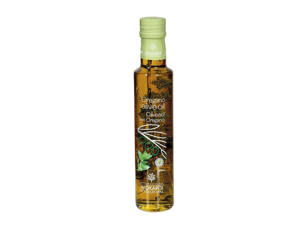 Liokarpi extra panensky olivovy olej s oreganem Greek Market