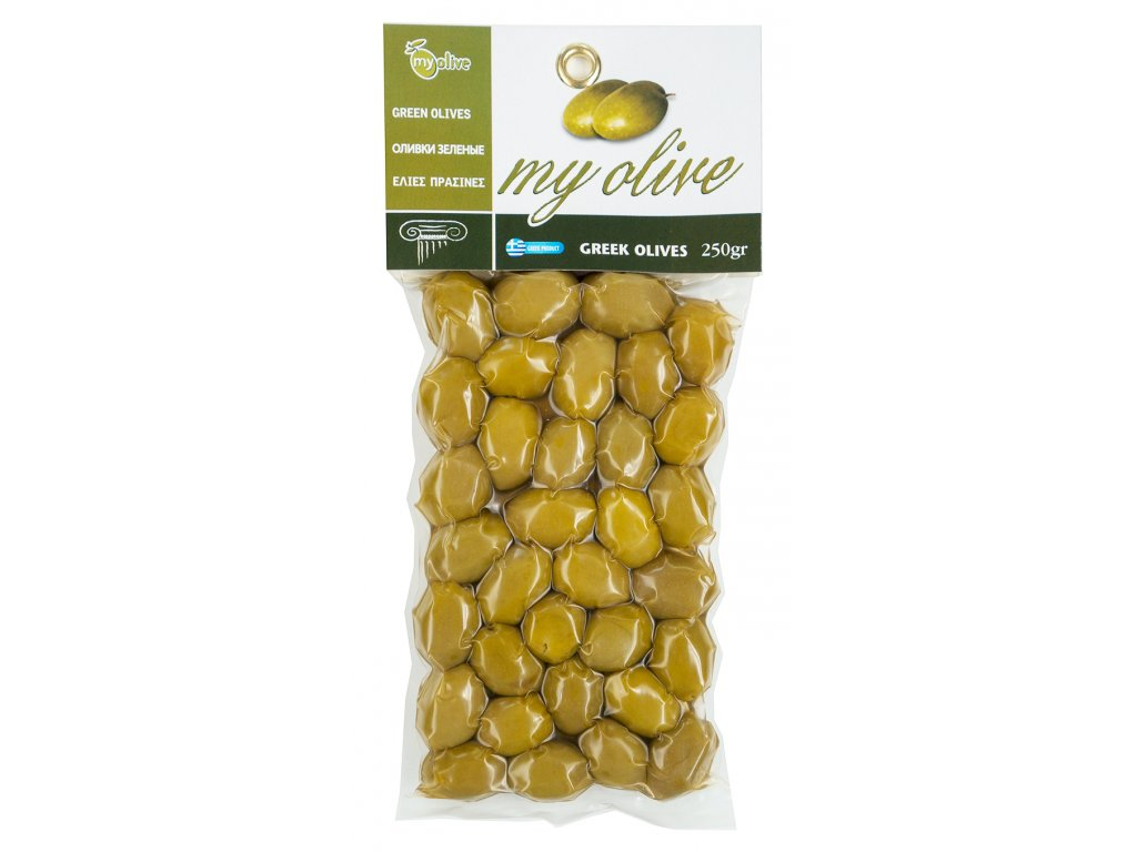 Zelene recke olivy My Olive Greek Market