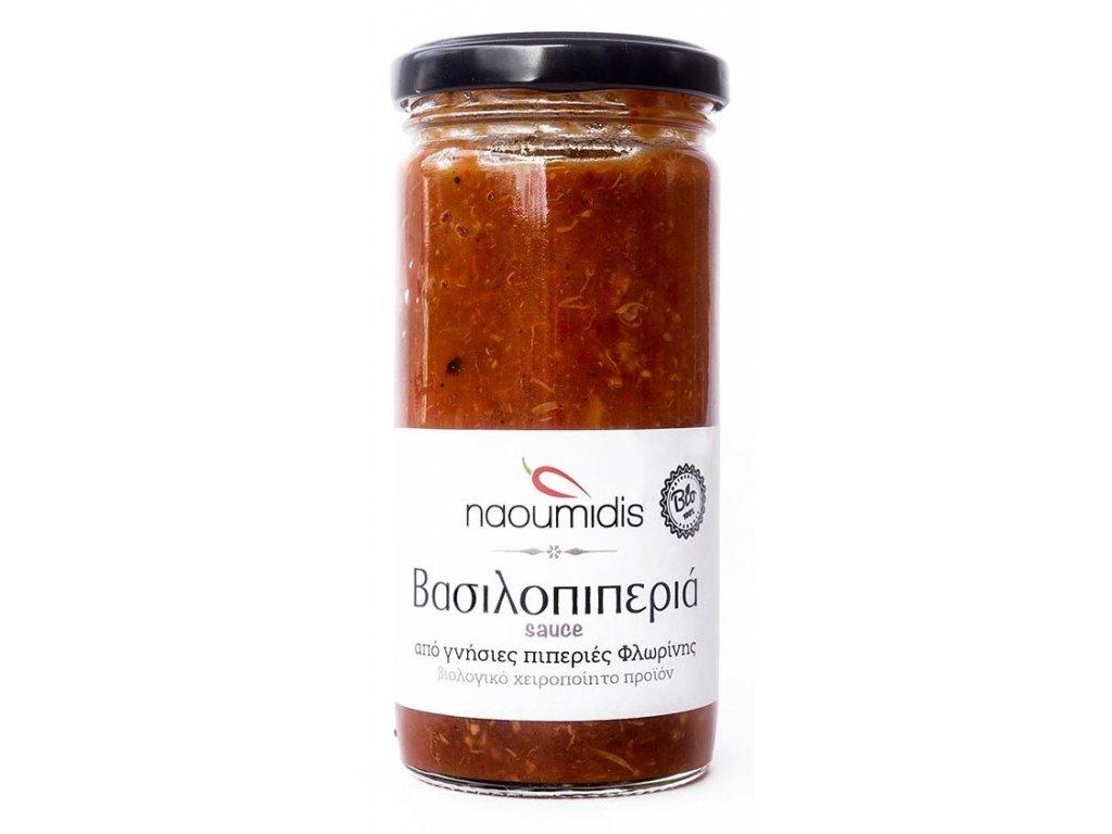 Omacka z paprik s rajcaty a hribky Naoumidis Greek Market