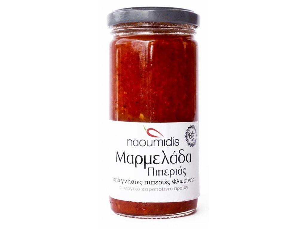 Marmelada s cervenych paprik florina Naoumidis Greek Market