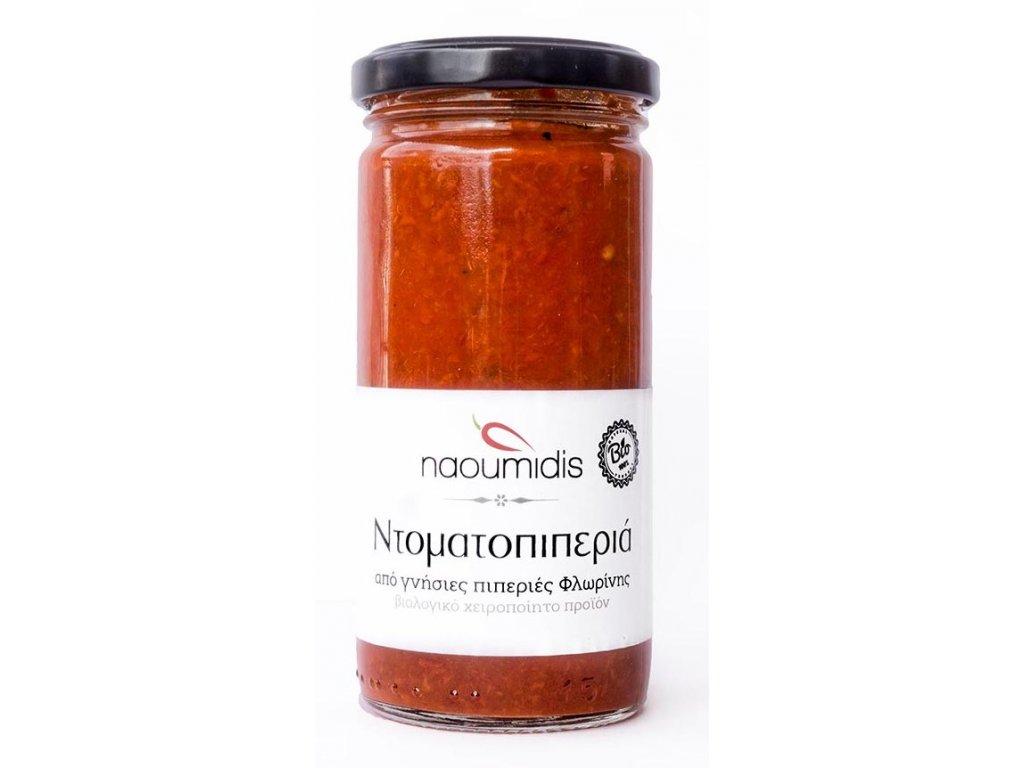 Pomazanka z cervene florina papriky s rajcaty Naoumidis Greek Market