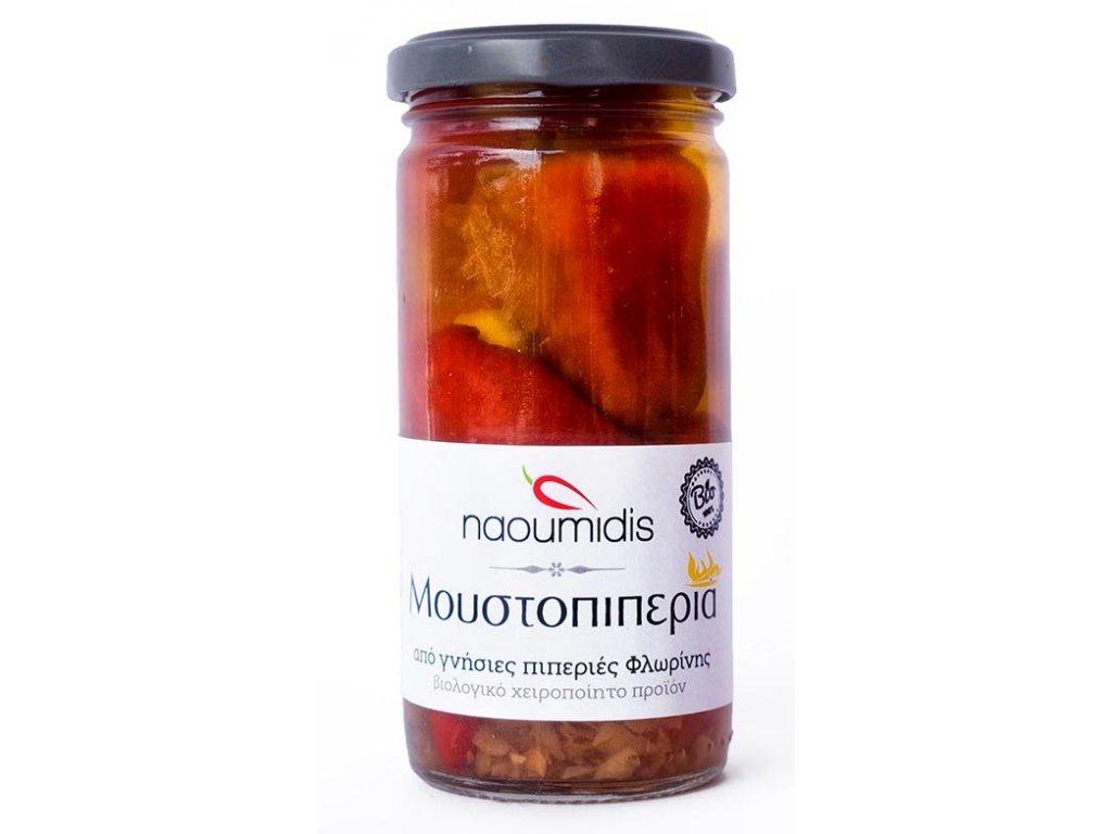 Palive papricky florina plnene zeleninou Naoumidis Greek Market