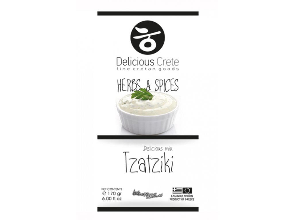 Koreni na tzatziki Delicious Crete Greek market