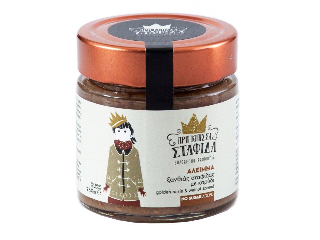 Pomazanka ze zlutych hrozinek s vlaskymi orechy Greek Market