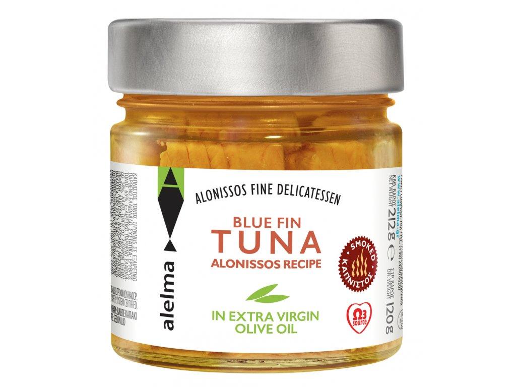Modroploutvy tunak z Alonisou uzeny Alelma Greek market