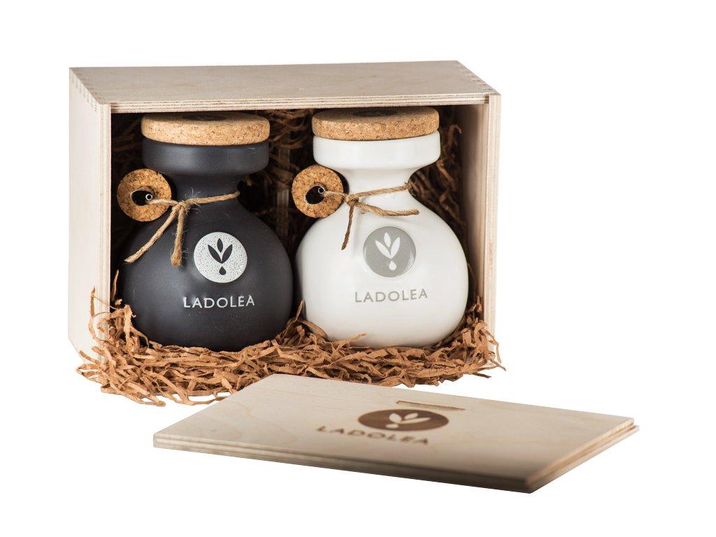 Ladolea darkovy box xtra panenske olivovy oleje 400ml Ladolea
