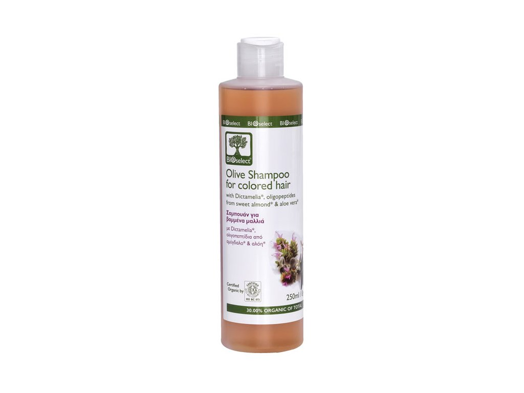 BIOselect olivovy sampon na barvene vlasy GreekMarket