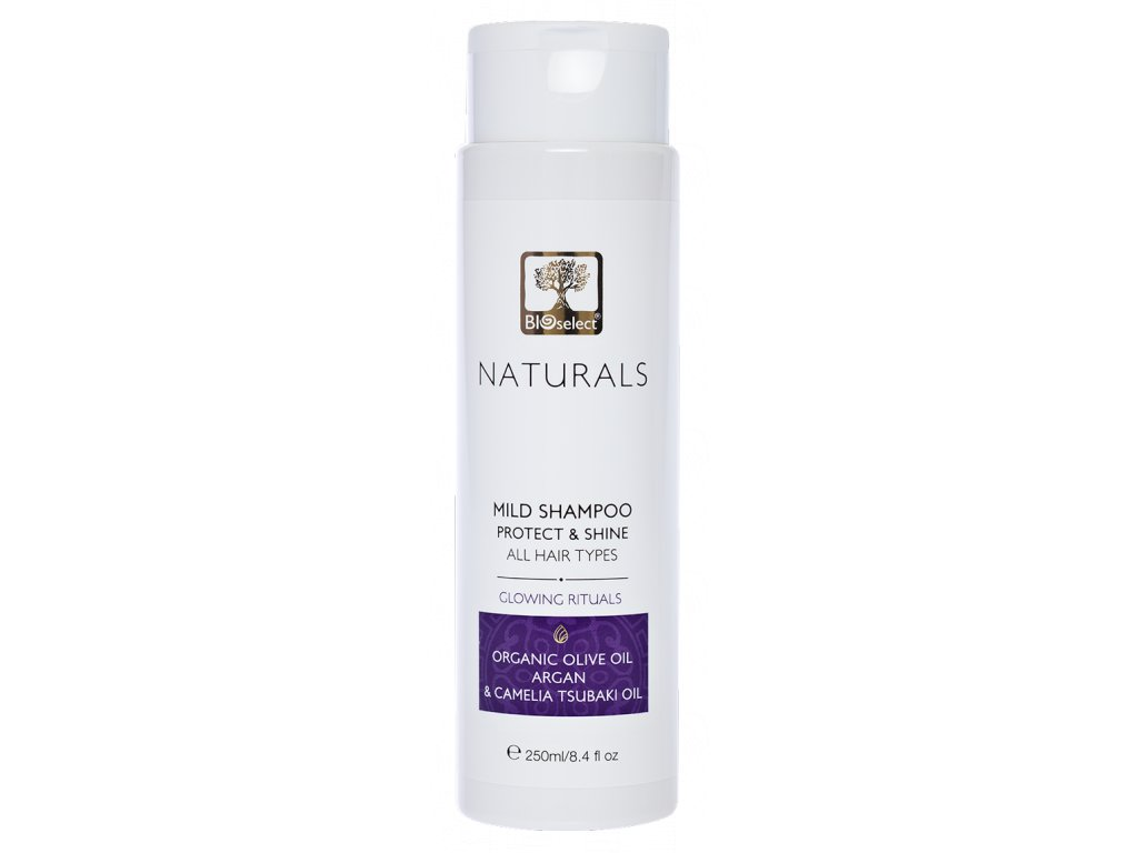 BIOselect NATURALS jemny sampon pro ochranu a lesk vlasu GreekMarket