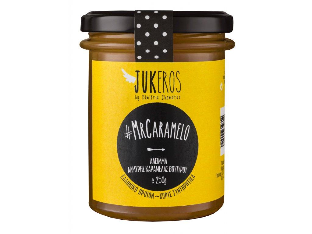 Jukeros jemna karamelova pomazanka s morskou soli GreekMarket