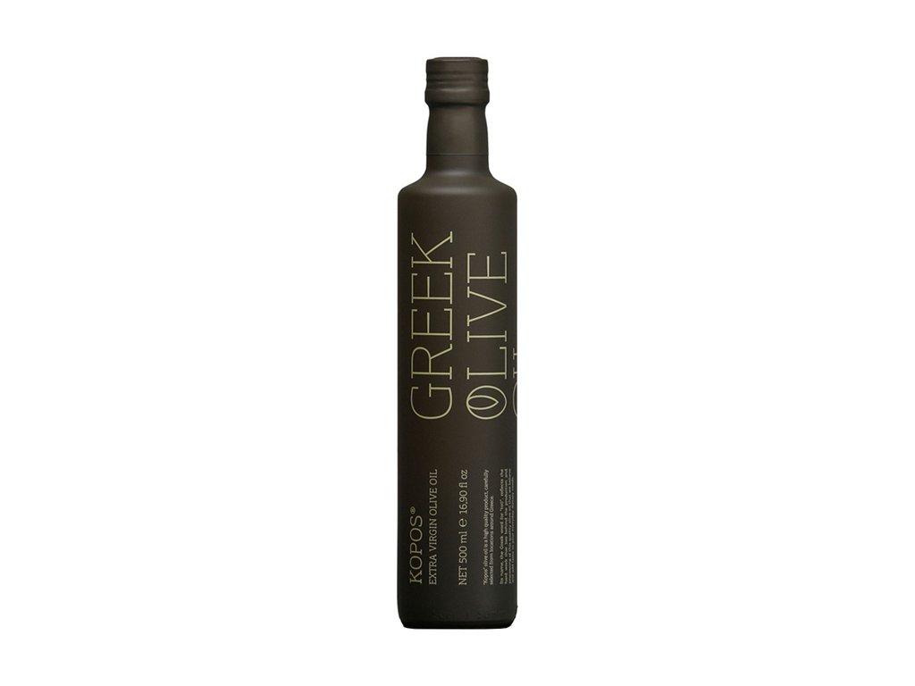 Kopos extra panensky olivovy olej 500ml ve skle GreekMarket