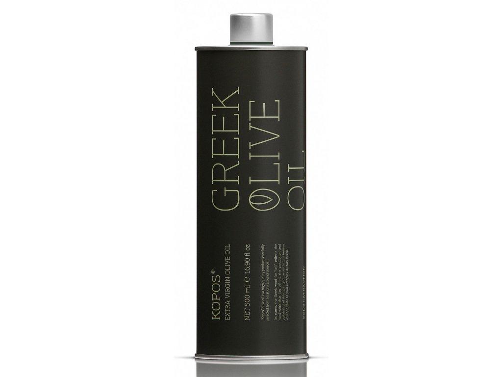 Kopos extra panensky olivovy olej 500ml v plechu GreekMarket