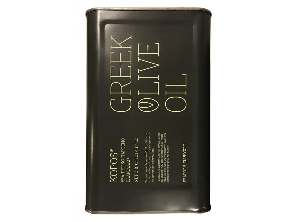Kopos 3l extra panensky olivovy olej GreekMarket