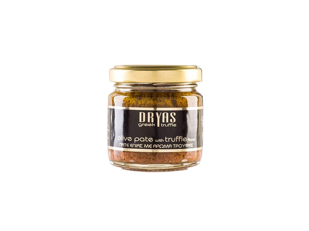 Dryas pasta z cernych oliv s prichuti lanyze Greek Market