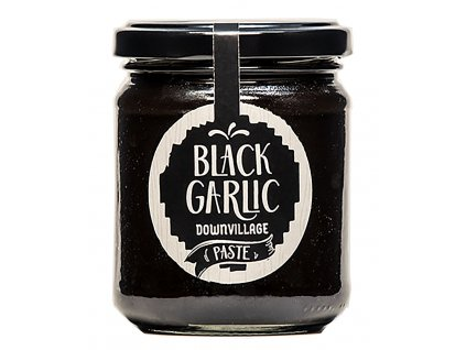 Black garlic downvillage pomazanka z cerneho cesneku GreekMarket