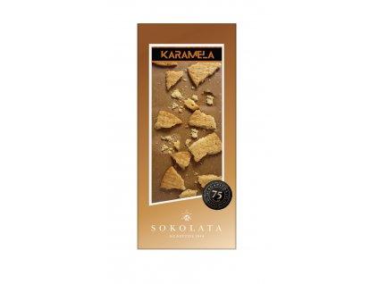 Cokolada KARAMELA se susenkami Greek Market