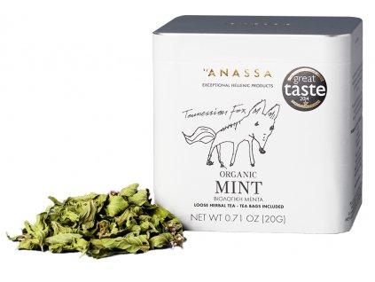 Anassa BIO mata čaj v plechovce GreekMarket