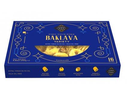 Kolionasios Baklava Variety 250g ruzne druhy baklavy GreekMarket