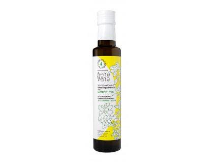 Ena Ena extra panensky olivovy olej s citronem a tymianem 250ml GreekMarket