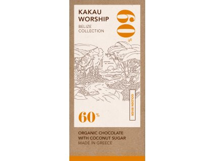 Kakau BIO horka cokolada kolekce Belize GreekMarket