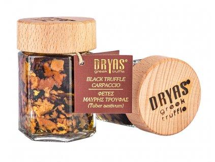 Dryas carpaccio z cerneho lanyze v darkovem baleni GreekMarket