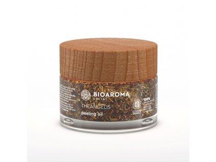 THEANGÉLIS BIO peelingový olej proti stárnutí diktamem, levandulí a olejem s hroznových semínek pro všechny typy pleti 50ml BioAroma