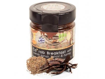 KA+ROB zdravá snídaně s tahini, karobovým sirupem a medem 250g BioAroma