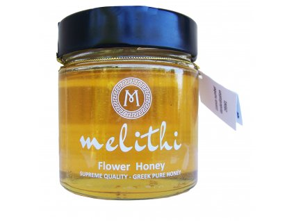 Melithi kvetovy med z jarni louky v Recke Argolide GreekMarket