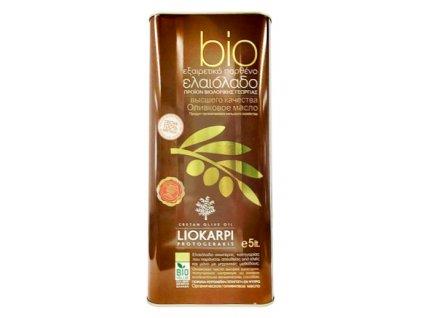 Liokarpi BIO extra panensky olivovy olej 5l GreekMarket