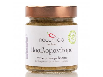 Naoumides BIO recke houby s cesnekem GreekMarket
