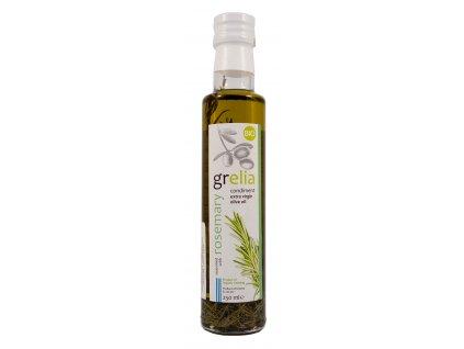 Extra panenský olivový olej S ROZMARÝNEM BIO 250ml Grelia