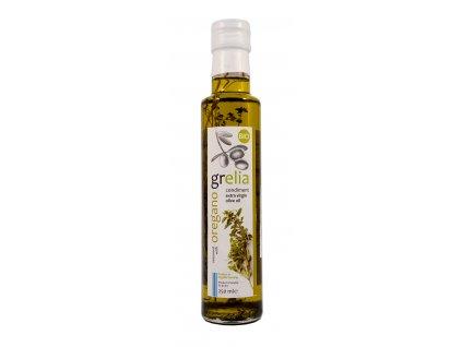 Extra panenský olivový olej S OREGANEM BIO 250ml Grelia
