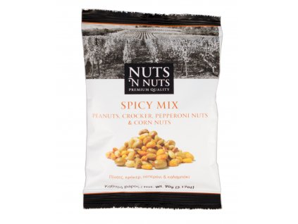 Směs ořechů Spicy mix NUTS _N NUTS 90gr