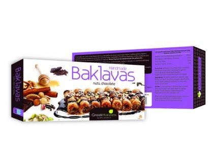Baklavas NUTS, CHOCOLATE 240gr 2015