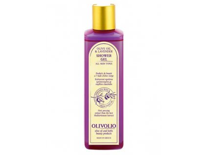 olivolio lavender shower gel 250ml