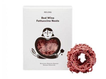 Fettucine s červeným vínem 250gr MELIMA