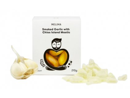 Uzený česnek s mastichou z ostrova Chios 210gr MELIMA
