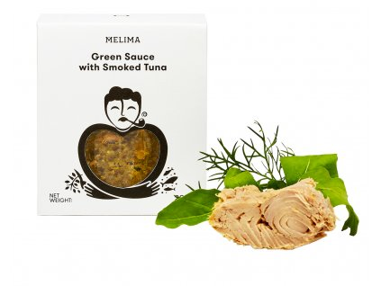 Melima Green Sauce with Smoked Tuna