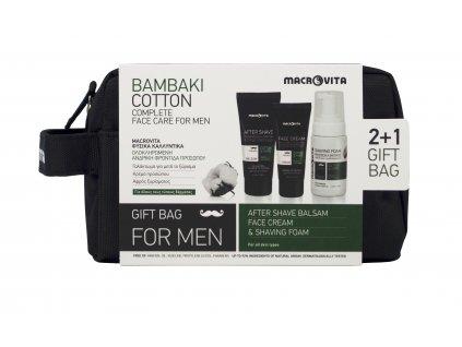 Dárkový set pro muže 2+1 bavlna a chmel MACROVITA