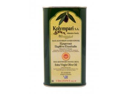 Extra panenský olivový olej PDO Kolympari 1L plechovka
