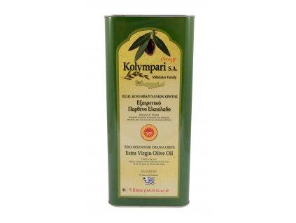 Extra panenský olivový olej PDO Kolympari 5L plechovka