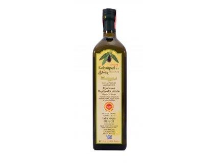 Extra panenský olivový olej PDO Kolympari 1L sklo