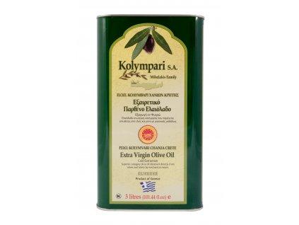 Extra panenský olivový olej PDO Kolympari 3L plechovka