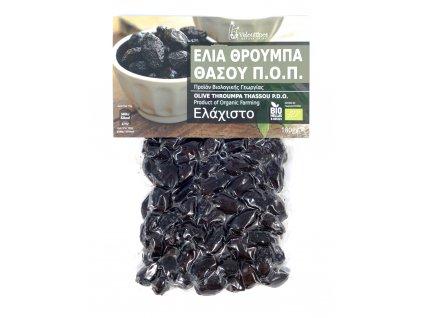 BIO olivy Throumpa z Thassosu 180gr Velouitinos