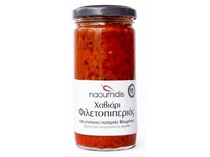 Kaviar z grilovanych cervenych paprik florina Naoumidis Greek Market