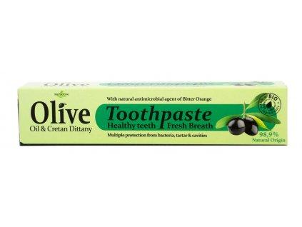 Zubní pasta s OLIVOVÝM OLEJEM a DIKTAMEM 75ml Madis